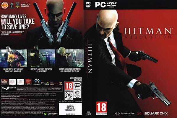 Hitman 5 Absolution Compressed PC Game Free Download A Common Man Dvd