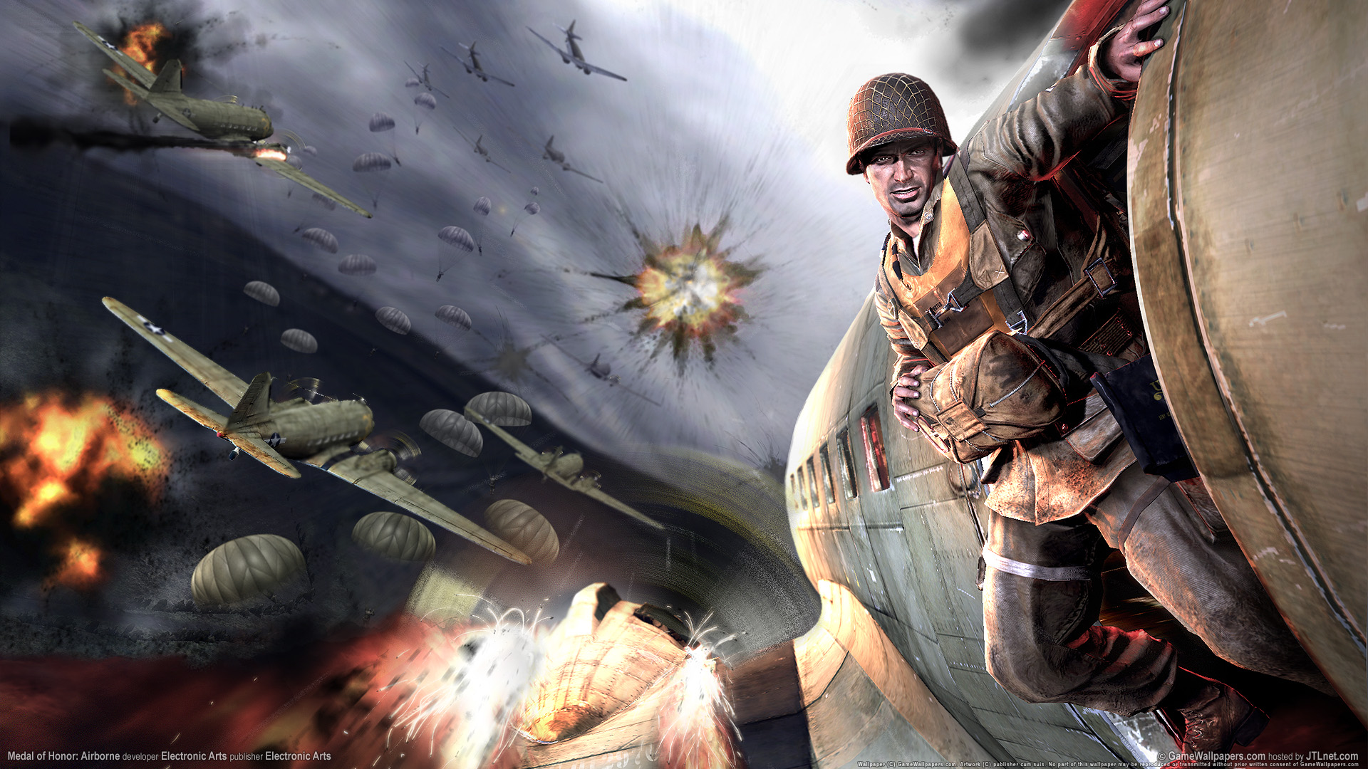 Medal of Honor Airborne Compressed PC Game Free Download 3.04GB