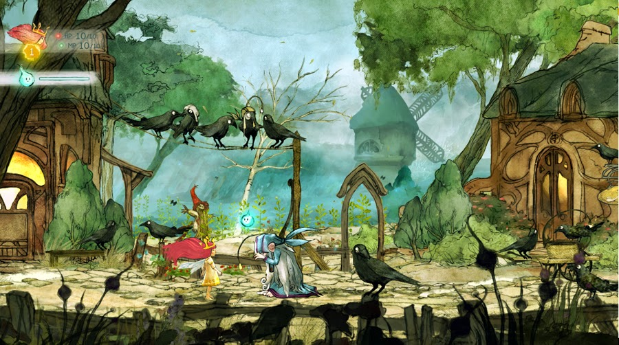 Child of Light PC Game Free Download Full Version